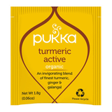 Pukka Turmeric Active 20 Herbal Tea Bags Organic Fair Trade
