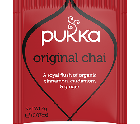 Pukka Original Chai 20 Herbal Tea Bags Organic Fair Trade