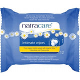 Natracare Organic Intimate Wipes 12 Pack