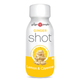 The Ginger People Ginger Shot, Single Or 12 Pack, Lemon & Cayenne Flavour