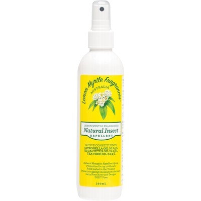 Lemon Myrtle Fragrances Insect Repellent 125ml Or 250ml