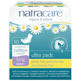 Natracare Organic Long Ultra Pads With Wings 10 Pack