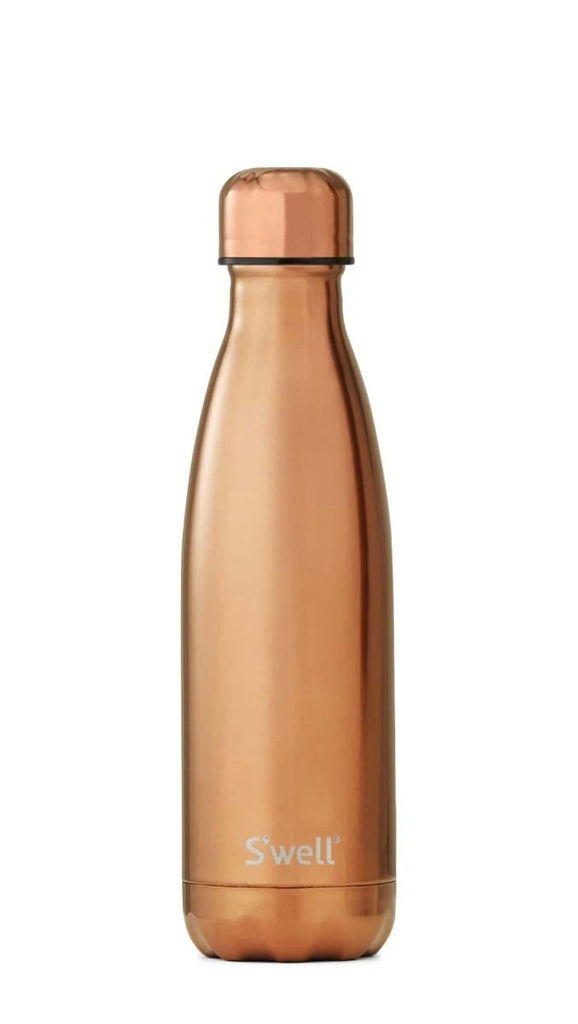 S'well Metallic Collection Rose Gold Insulated Bottle Limited Edition 500ml