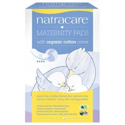 Natracare Organic Maternity Pads 10 Pack