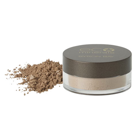 Eco Minerals Mineral Foundation Powder, Flawless Matte 5g Sifter Jar (Normal To Oily & Oily Skin)