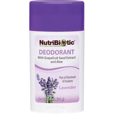 Nutribiotic Deodorant Stick 75g, Lavender Fragrance