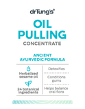 Dr Tung's Oil Pulling Concentrate Ancient Ayurvedic Formula 50ml
