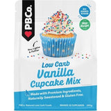 PBCo Cupcake Mix Low Carb 260g, Vanilla Flavour
