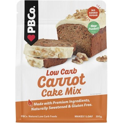 PBCo Low Carb Carrot Cake Mix 350g