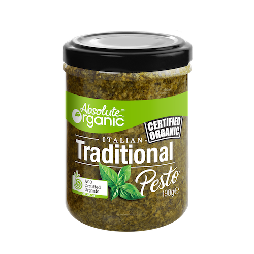 Absolute Organic Traditional Pesto 190g