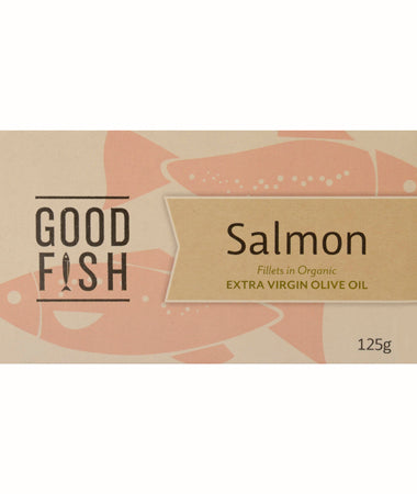 Good Fish Canadian Salmon in Olive Oil 125g