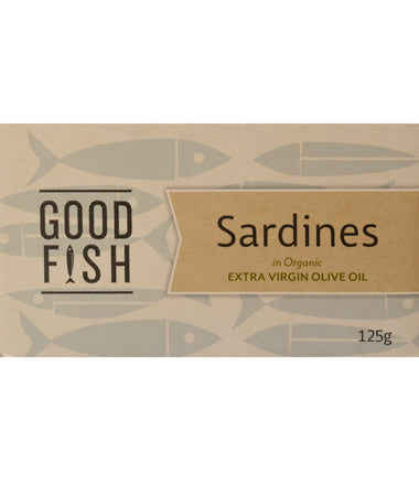 Good Fish Sardines in Olive Oil 125g