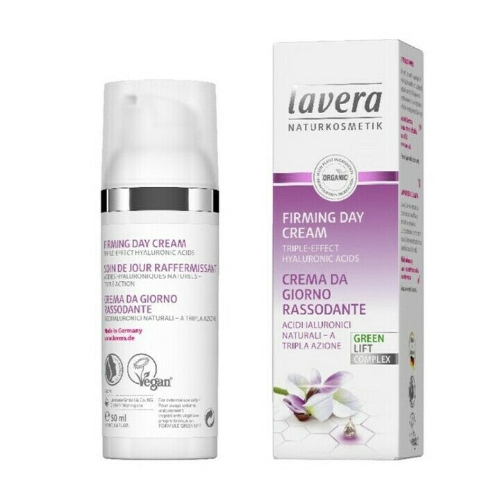 Lavera Firming Day Cream 50ml, Triple Effect Hyaluronic Acids