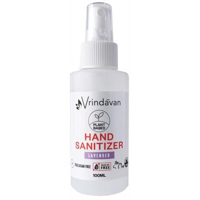 Vrindavan Hand Sanitizer 60ml Or 100ml, Lavender Fragrance