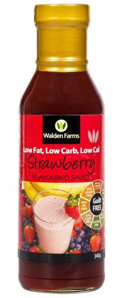 Walden Farms Guilt Free Strawberry Sauce 340g