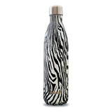 Swell Textile Collection Noir Zebra Insulated Stainless Steel Bottle 500ml