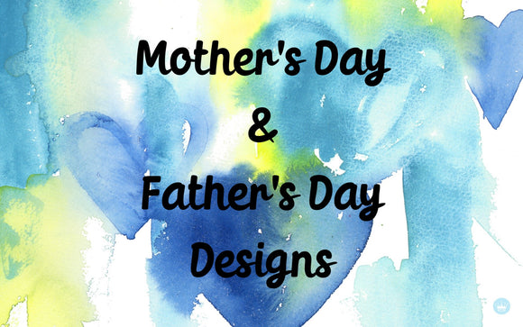 Mother's Day & Father's Day Design