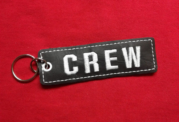 ITH Digital Embroidery Pattern For Crew Strip Key Chain / Bookmark, 4X4 Hoop