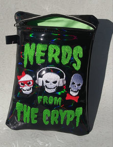 ITH Digital Embroidery Pattern For Nerds From The Cript Zip Bag 5X7, 5X7 Hoop