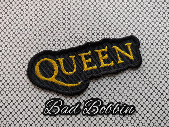 ITH Digital Embroidery Pattern for Queen Patch, 4X4 - 5X7 Hoop