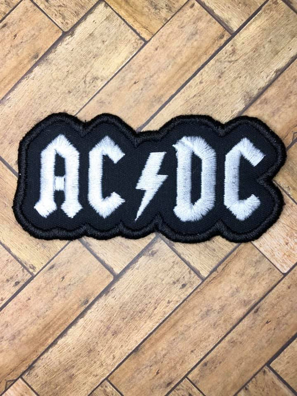 ITH Digital Embroidery Pattern for AC/DC Patch, 4X4 - 5X7 Hoop