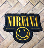 ITH Digital Embroidery Pattern For Nirvana Patch, 4X4 - 5X7 Hoop
