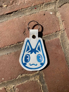 ITH Digital Embroidery Pattern for AC Rosie Snap Tab / Key Chain, 4X4 Hoop