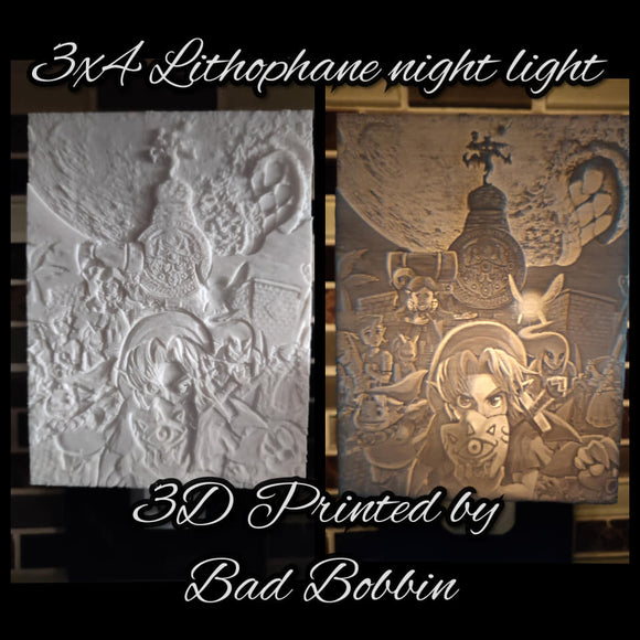 Lithophane Night Light Link