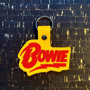 ITH Digital Embroidery Pattern for Bowie Snap Tab / Key Chain, 4x4 hoop