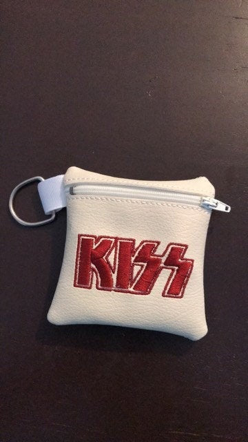 ITH Digital Embroidery Pattern for Band Zip Bag K, 4x4 hoop