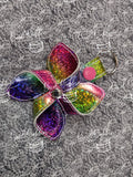 ITH Digital Embroidery Pattern for 3D Pinwheel II Snap Tab / Key Chain, 4X4 Hoop
