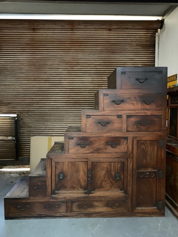Staircase chest