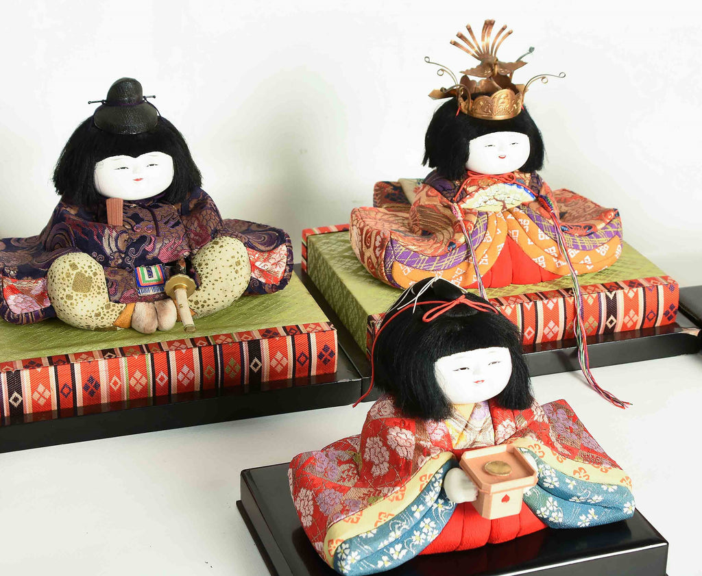 Hinaningyo Japanese girls day dolls