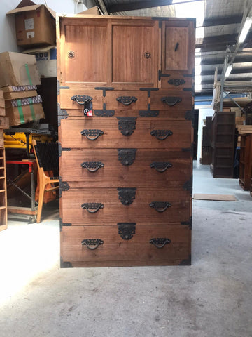 three piece multi purpose storage chest