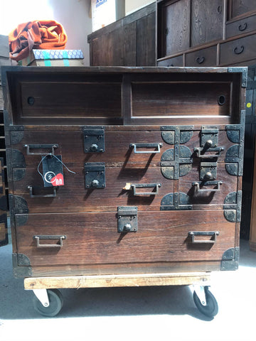 Japanese ko dansu small storage chest