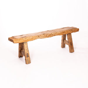 Vintage Saur Wood Bench