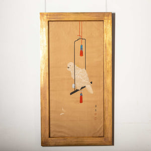 Japanese Painting of A Parrot-JP20002