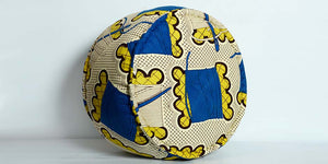 African cotton pouf - ZZD14035 - SOLD