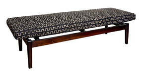 Indonesian Mudcloth Bench