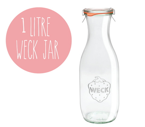1 litre Weck Juice Jar - Single
