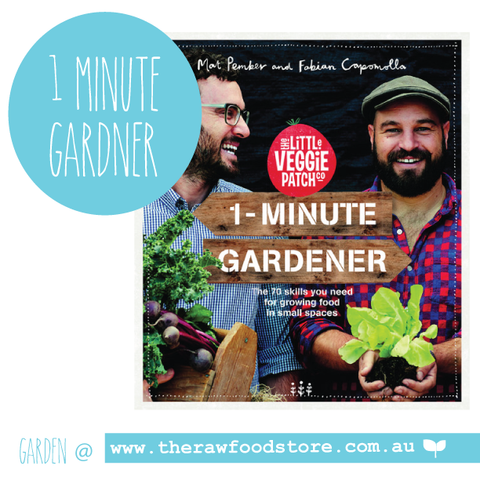 1 Minute Gardener -The Little Veggie Patch