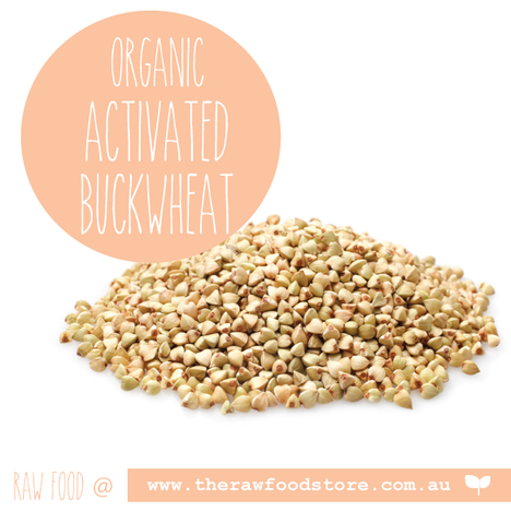 Activated Buckwheat  - Organic - 1Kg & 5Kg