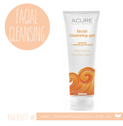 Acure Facial Cleansing Gel 118ml
