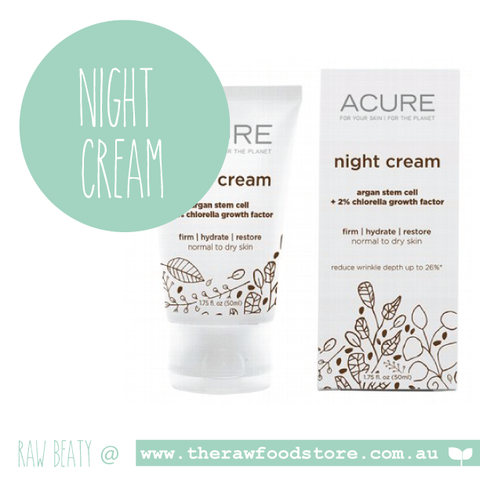 Acure Night Cream 50ml