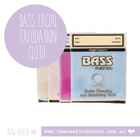 Bass Facial Care Exfoliation Facial Cloth