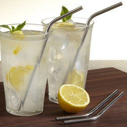 Stainless Steel Straws- Bent