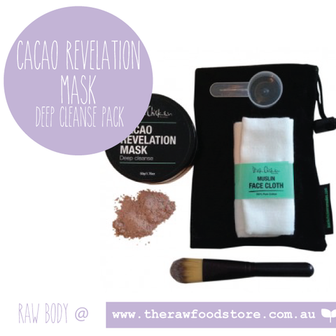 Black Chicken - Cacao Revelation Mask  Deep Cleanse Pack