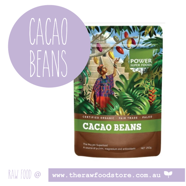 Cacao Beans - Organic - Power Super foods