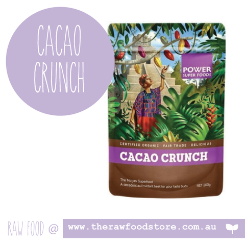 Cacao Crunch Nibs Power Super foods