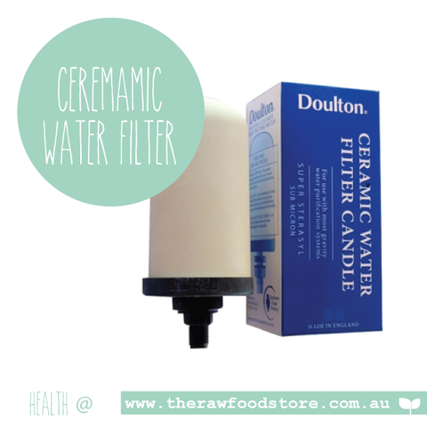 Filter Doulton Super Sterasyl Ceramic Water Filter Candle for Gravity Urn Water Filters